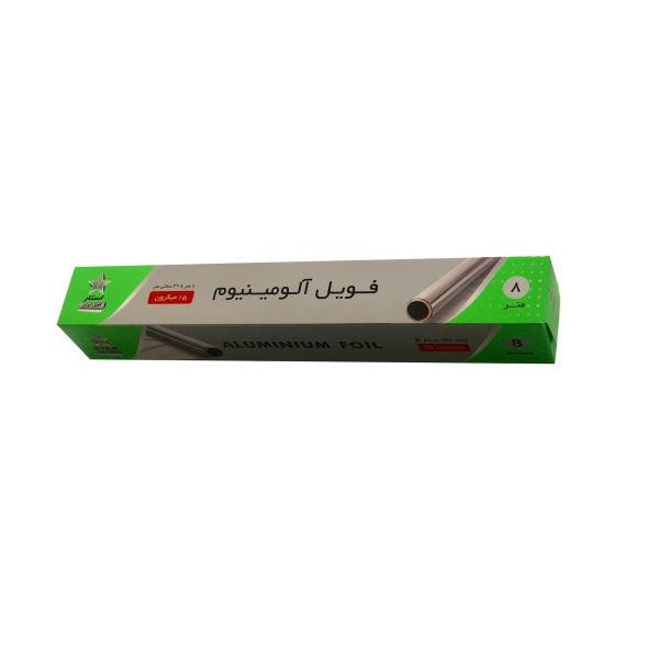 فویل آلومینیوم استار فویل ایران کد 50Mic رول 1 متری