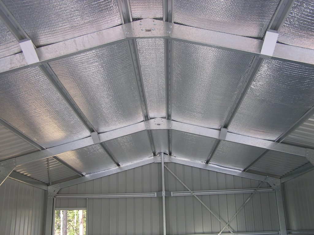 فویل آلومینیوم برای سقف سوله - استار فویل
